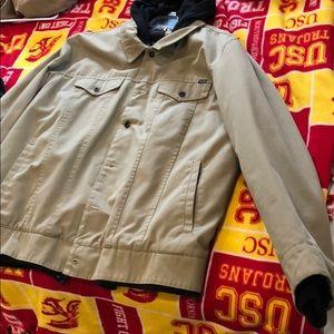 Beige Hurley jacket size XXL